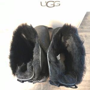 UGG Shoes - {UGG} Black Bailey Bow II Twinkle Boots